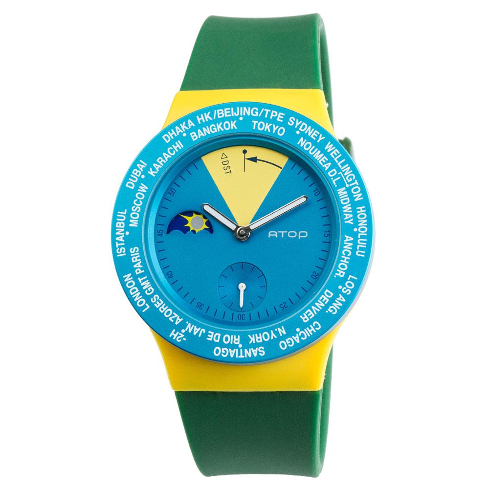 ATOP 世界時區腕錶 - VWA-Brazil 巴西