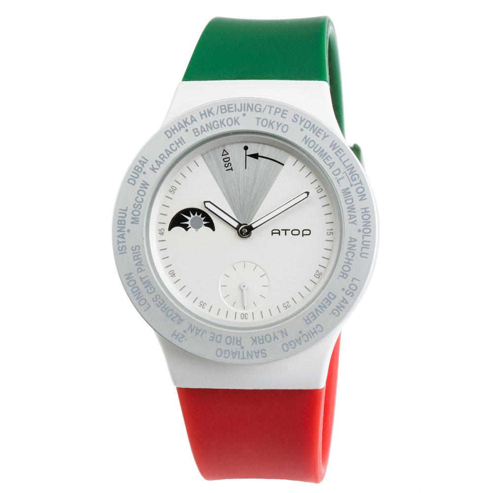 ATOP 世界時區腕錶 - VWA-Italy 義大利