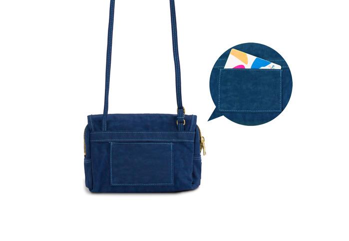 【隨身散步包】DYDASH x 隨身散步小包(散步安口藍)