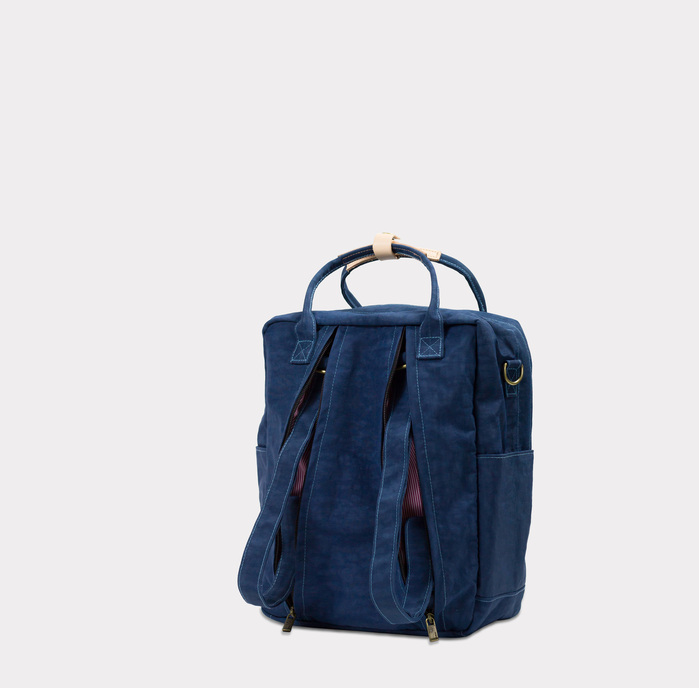 DYDASH|3way3用手提/肩背/後背包/媽媽包-小安口藍