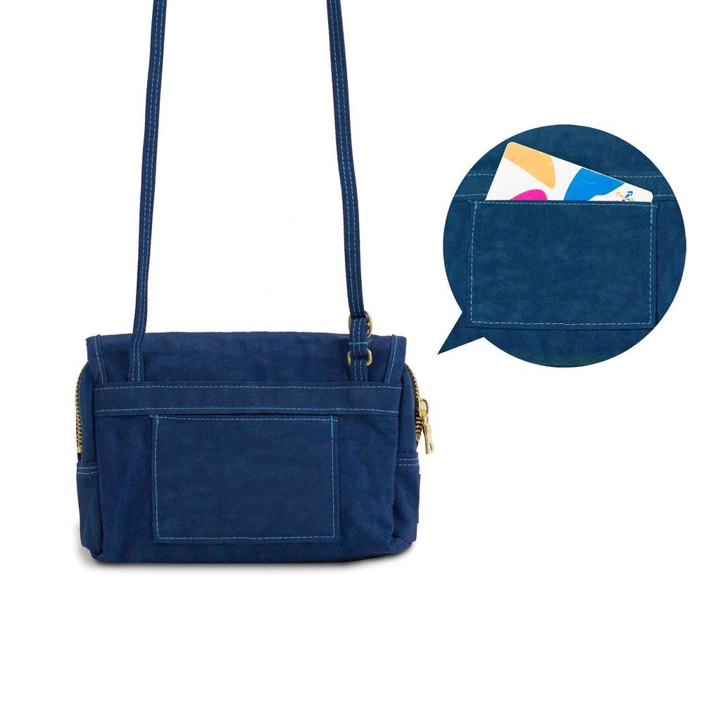 DYDASH|【散步包】隨身散步小包-散步安口藍