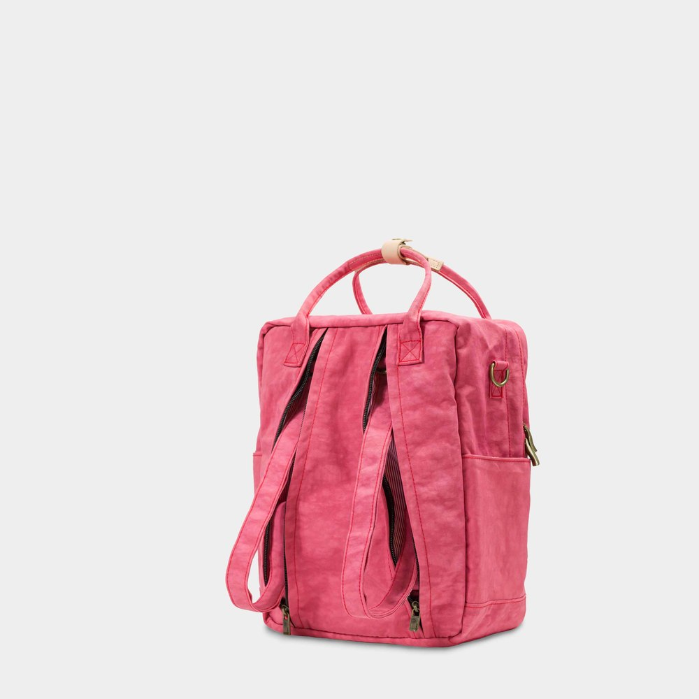 DYDASH 3way3用手提/肩背/後背包/媽媽包-小粉紅星球