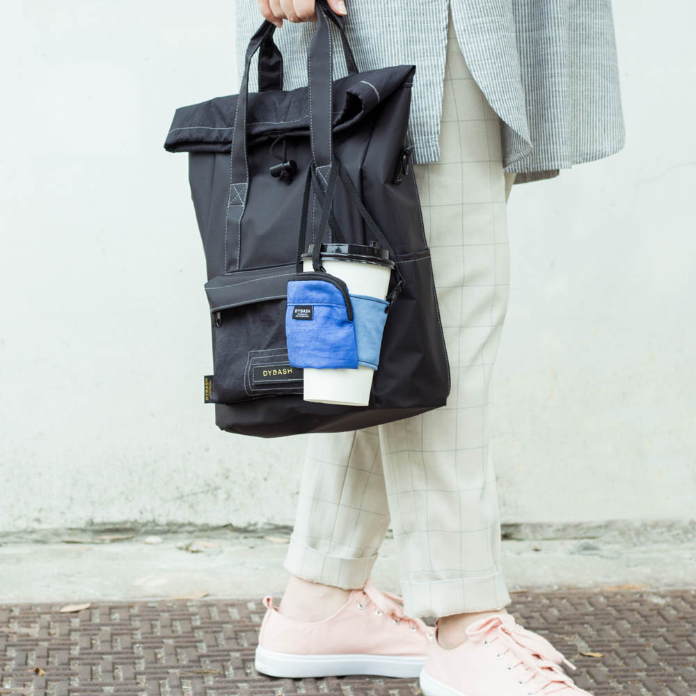 DYDASH|減塑/環保/飲料提袋-PICUP杯卡(尼斯湖水綠)