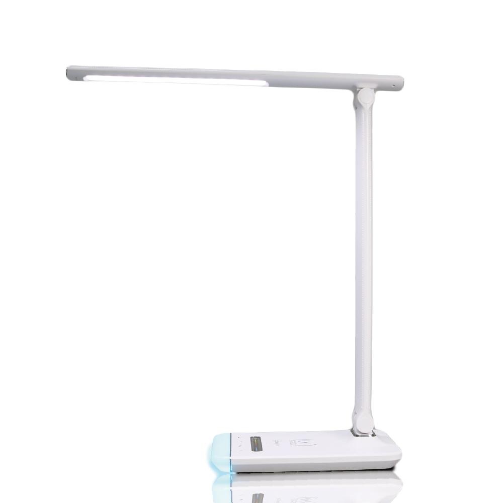 Luxy Star | 皮紋無線充電LED護眼檯燈