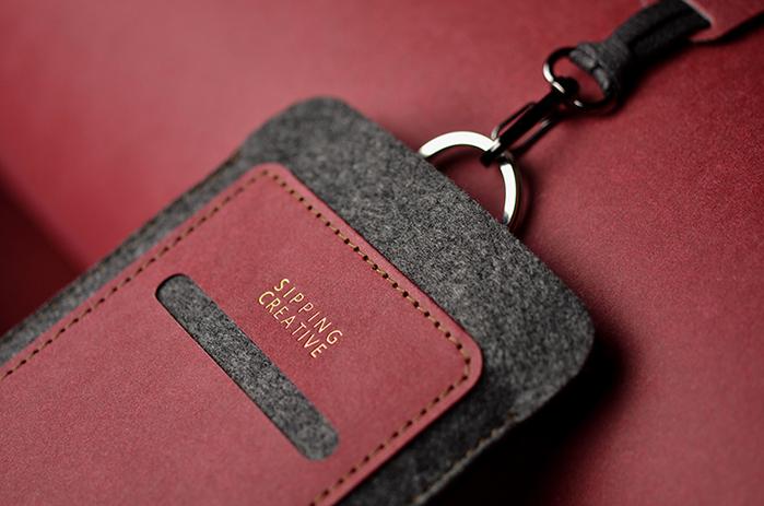 (複製)俬品創意|護照夾(醇酒紅)