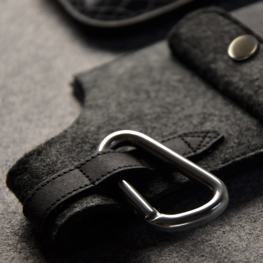 俬品創意|槍型手機套5(鱷魚紋)