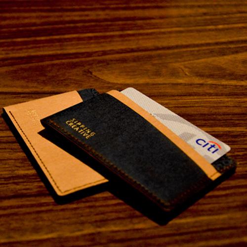 俬品創意|信用卡夾(極簡黑)