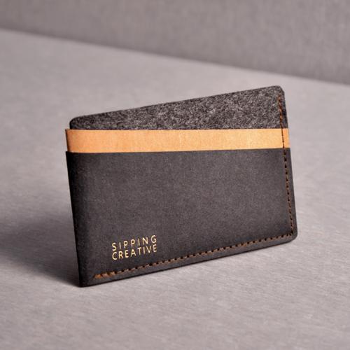 俬品創意 信用卡夾(時尚黑)