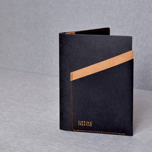 俬品創意|護照夾(時尚黑)