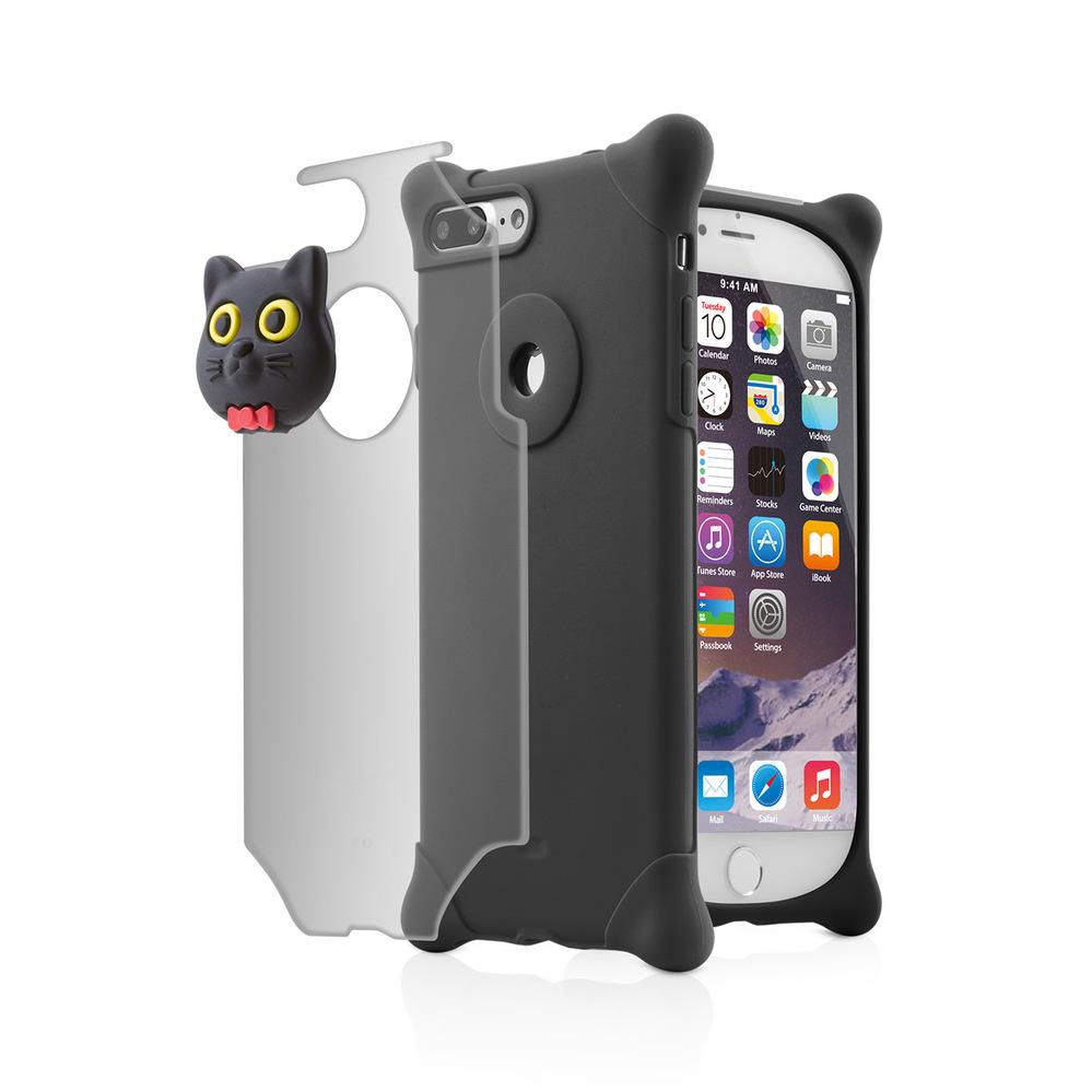 Bone|iPhone 8 Plus / 7 Plus 四角防撞 泡泡保護套 - 貓咪