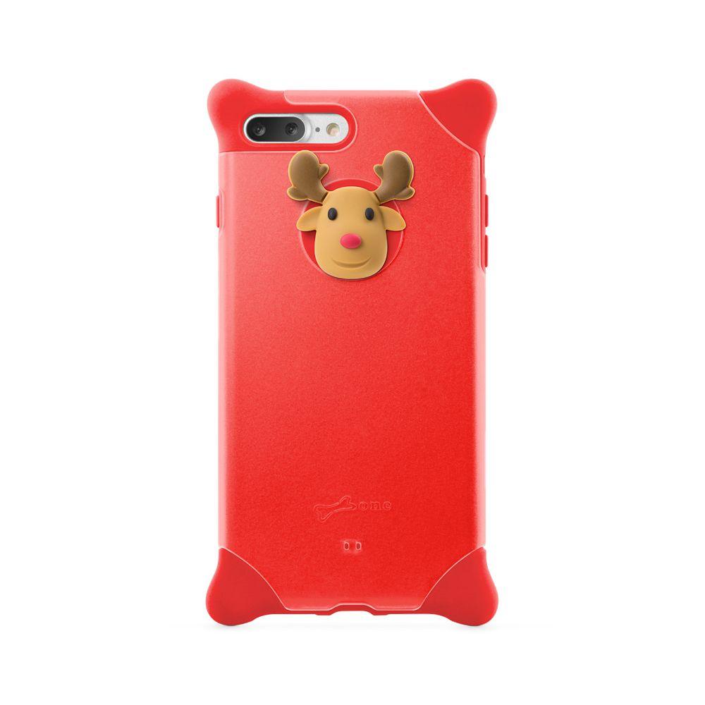 Bone|iPhone 8 Plus / 7 Plus 四角防撞 泡泡保護套 - 麋鹿