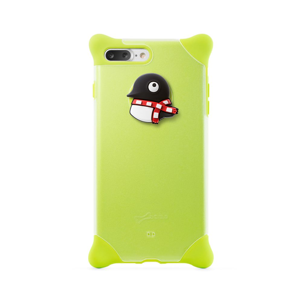 Bone|iPhone 8 Plus / 7 Plus 四角防撞 泡泡保護套 - 企鵝