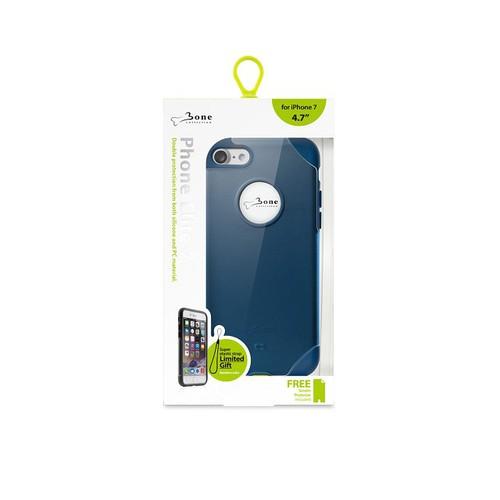 Bone|iPhone 8 Plus / 7 Plus 精英保護殼 - 海軍藍