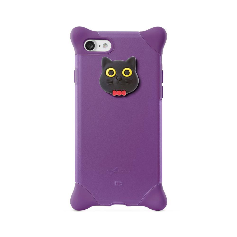 Bone|iPhone SE2 / 8 / 7 四角防撞 泡泡保護套 - 貓咪