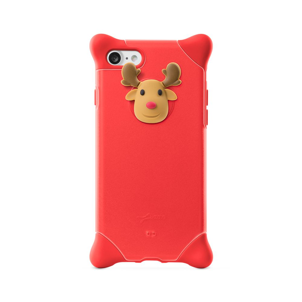 Bone|iPhone 8 / 7 四角防撞 泡泡保護套 - 麋鹿