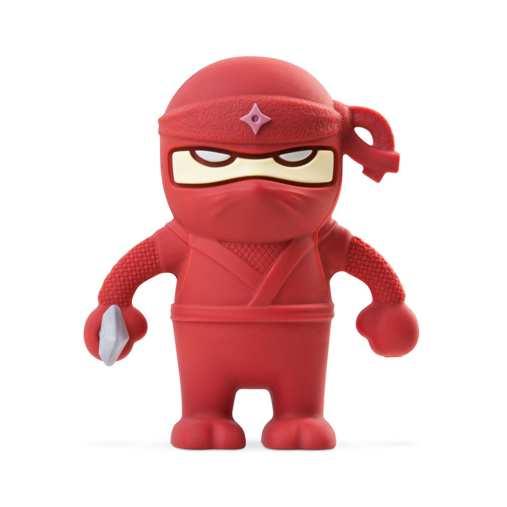 Bone|Ninja Dual Driver 忍者雙頭隨身碟-紅(16G)
