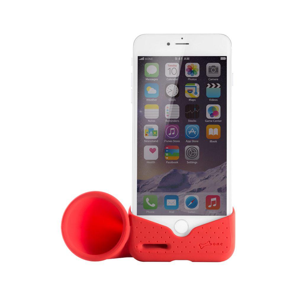 Bone|Horn Stand / iPhone 8 Plus / 7 Plus 號角揚聲器 - 紅色