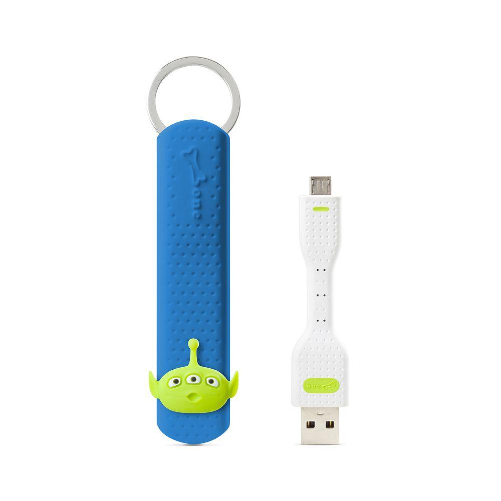 Bone|LinKey Micro USB 充電傳輸鑰匙圈-三眼外星人