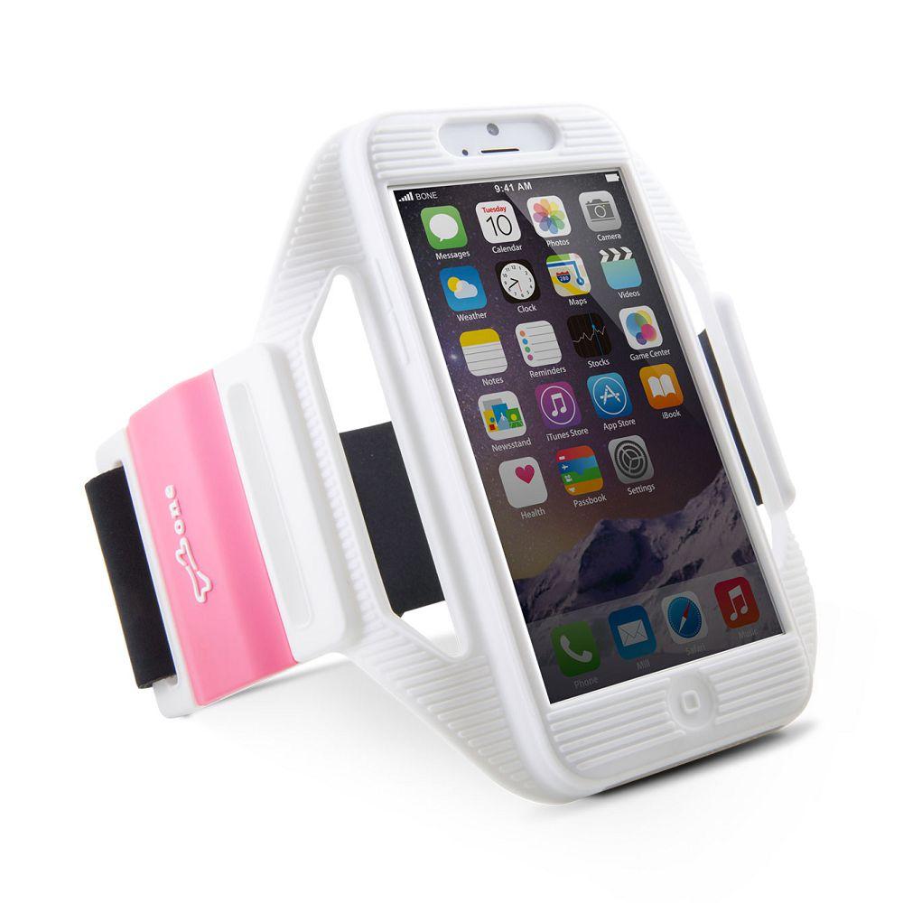 Bone|iPhone 6 / 6S 運動保護套 運動臂套 - 白
