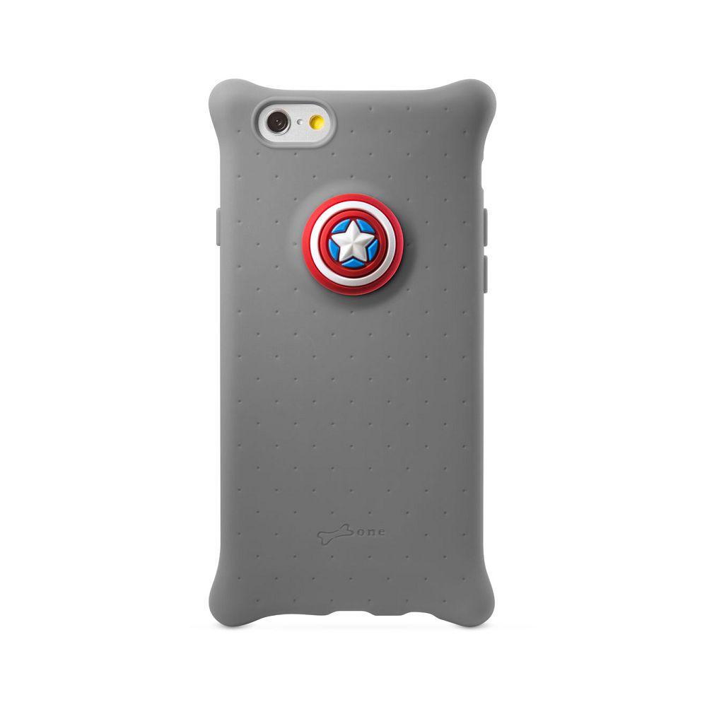 Bone|iPhone 6 / 6S 四角防撞 泡泡保護套 手機保護 - 美國隊長