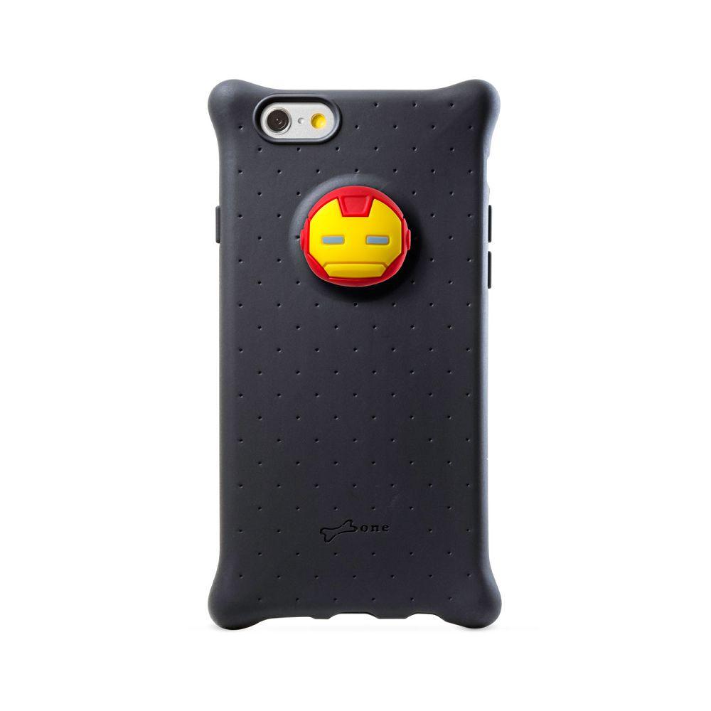 Bone|iPhone 6 / 6S 四角防撞 泡泡保護套 手機保護 - 鋼鐵人