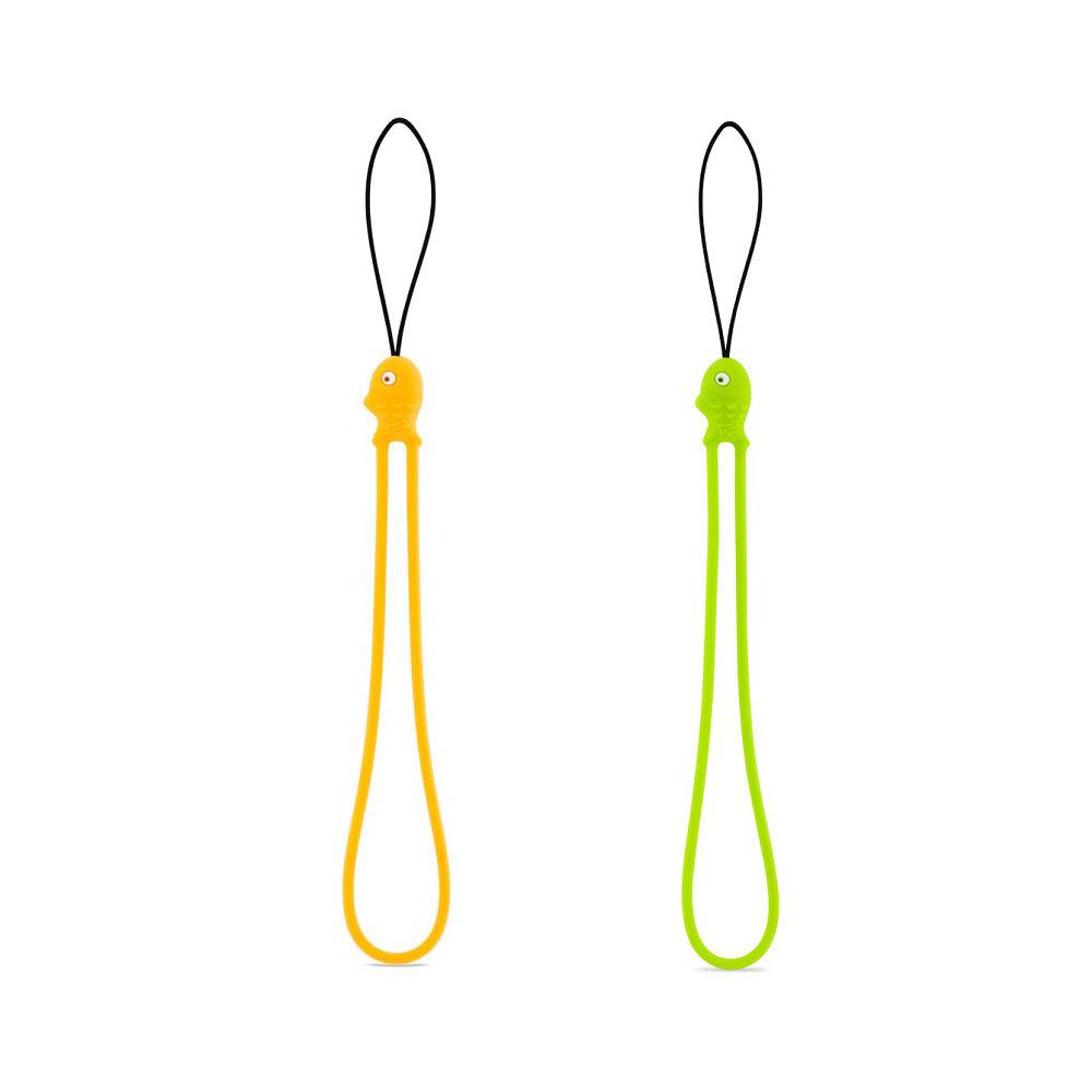 Bone 小魚吊繩 - 綠/橘