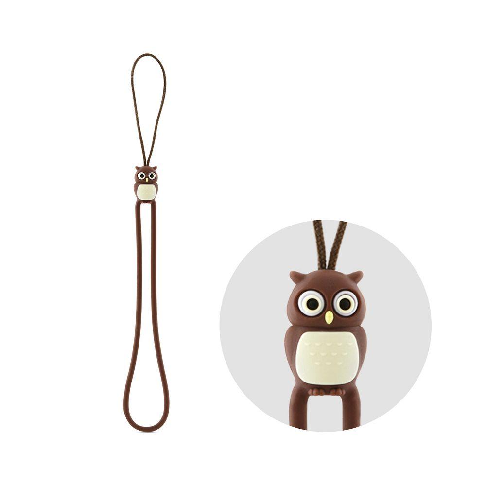 Bone Owl Strap 貓頭鷹吊繩-咖啡