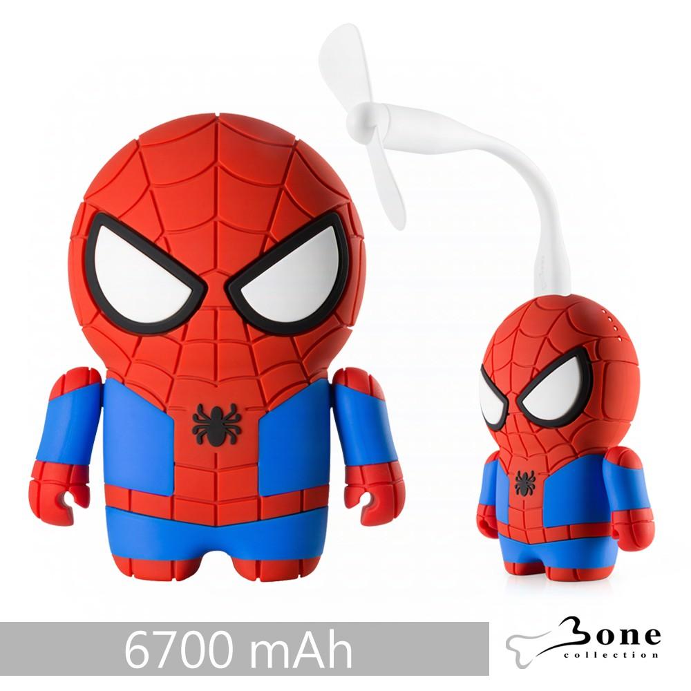 Bone|蜘蛛人公仔行動電源 6700mAh