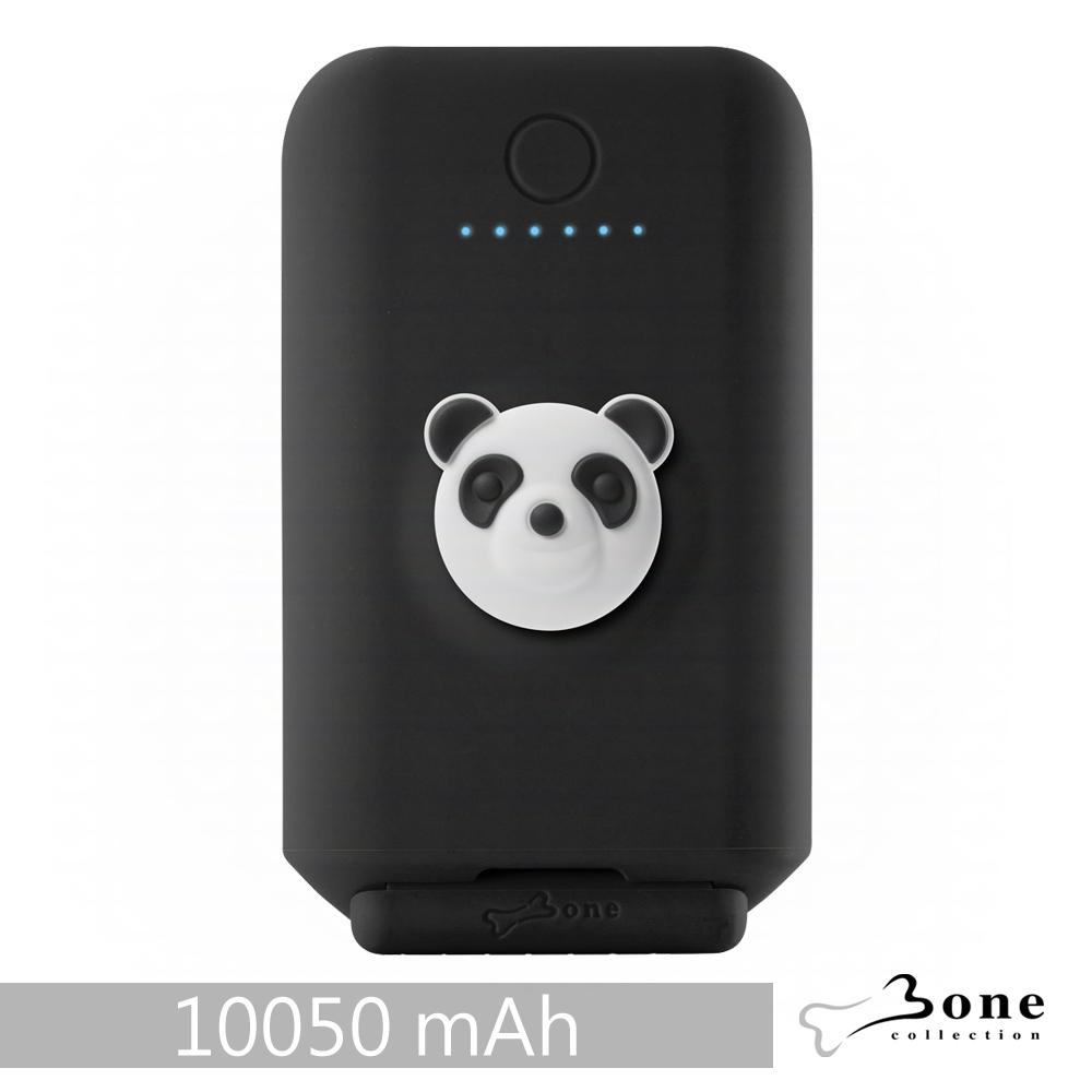 Bone|聰明立架逗扣行動電源 10050mAh - 貓熊