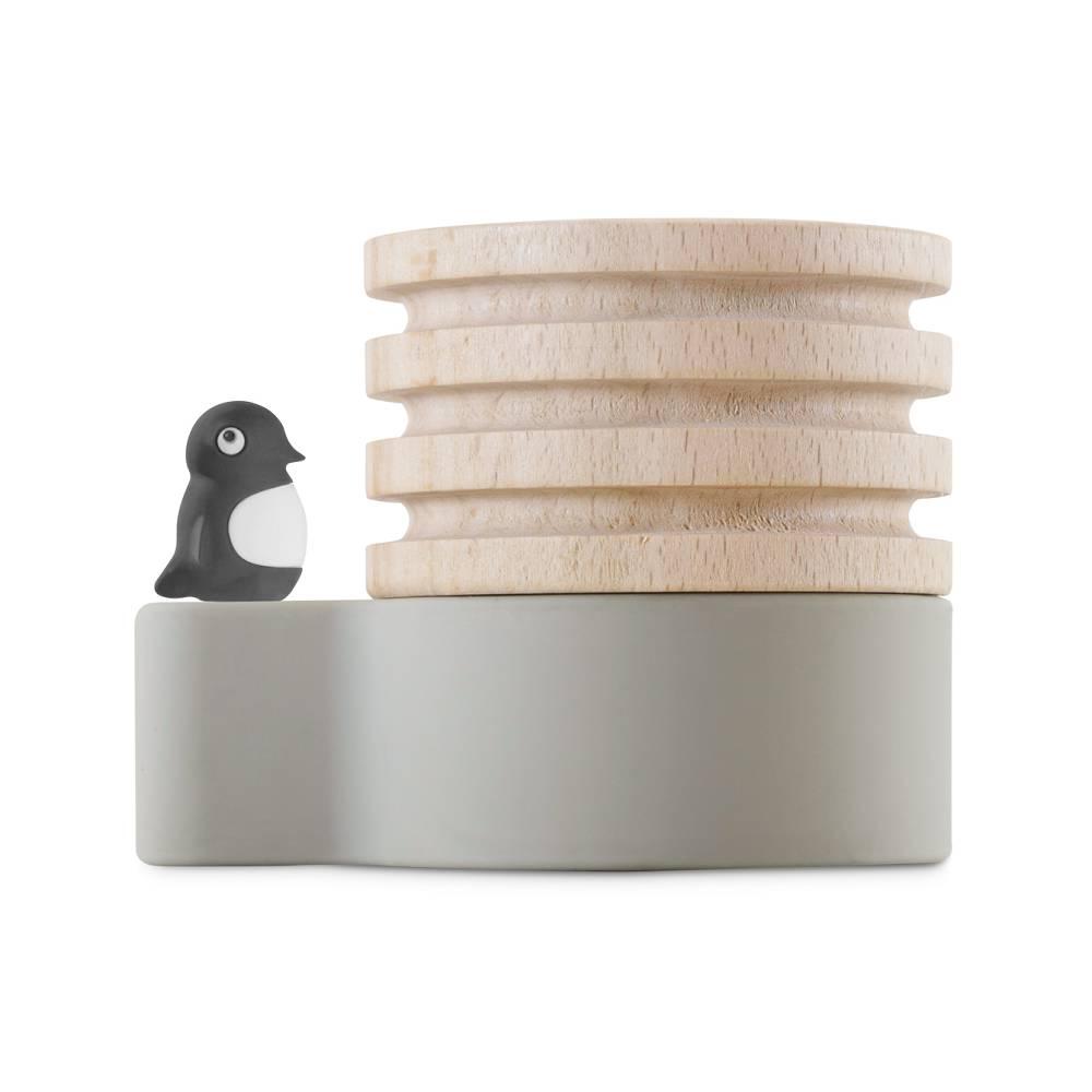 Bone|Wood Diffuser 原木擴香台 - 企鵝