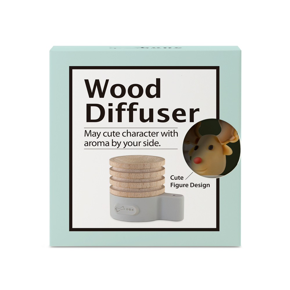 Bone|Wood Diffuser 原木擴香台 - 麋鹿