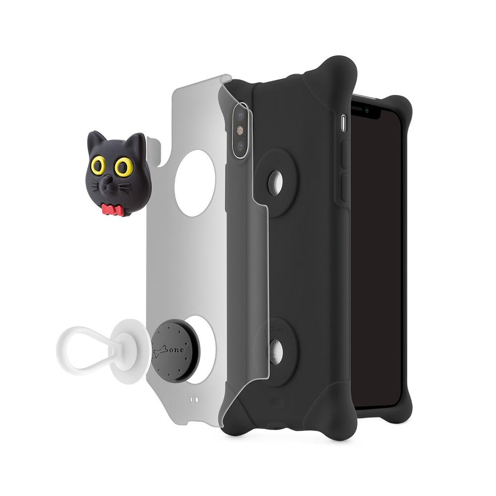 Bone|iPhone X 泡泡保護套 - 貓咪