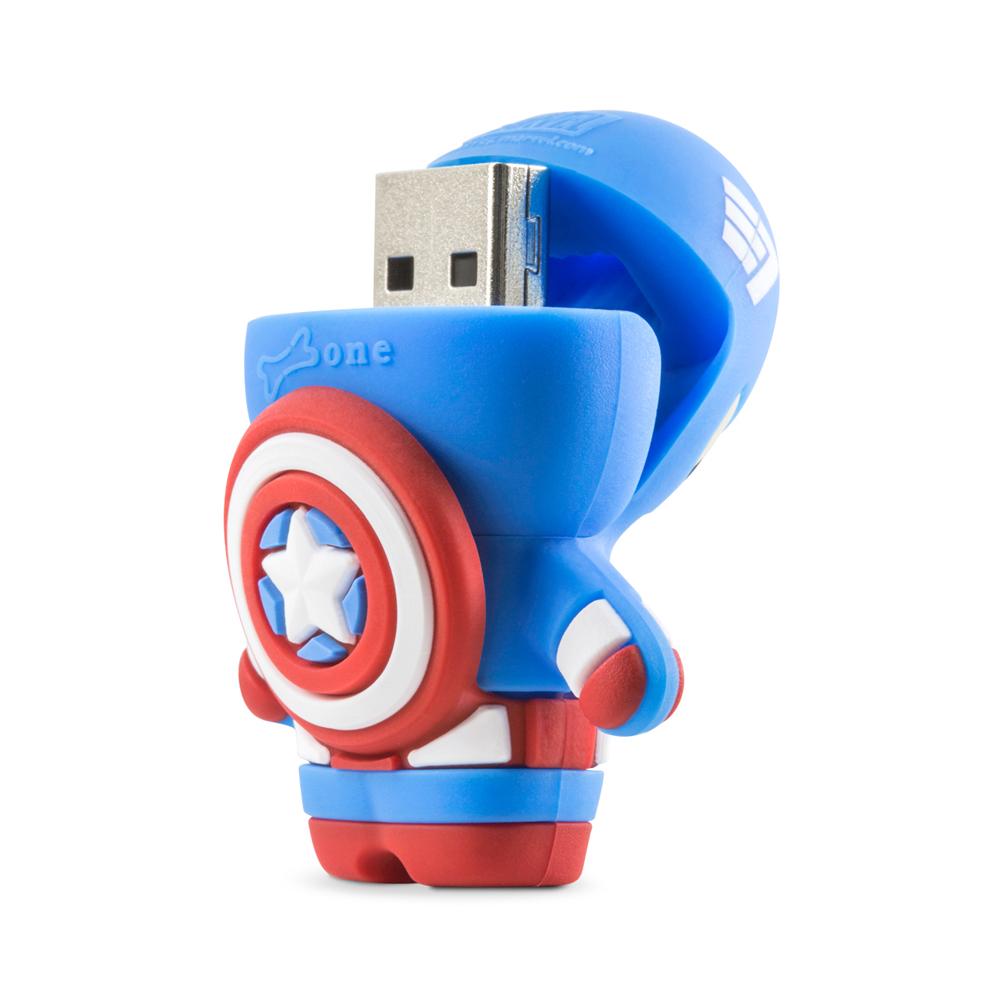 Bone Marvel Driver 隨身碟 3.0 (16G) - 美國隊長 / 鋼鐵人