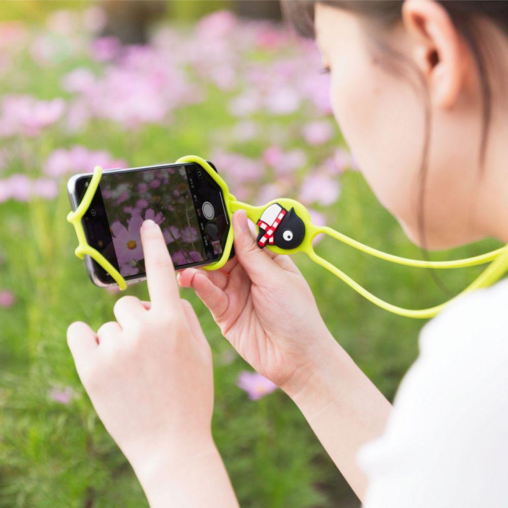 Bone | PhoneTie 輕鬆走 頸掛手機綁 - 企鵝小丸