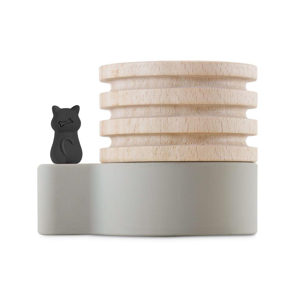Bone|Wood Diffuser 原木擴香台 - 喵喵貓