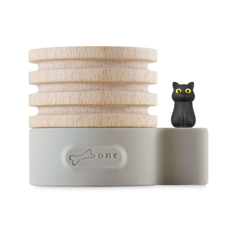 Bone|Wood Diffuser 原木擴香台 - 貓咪