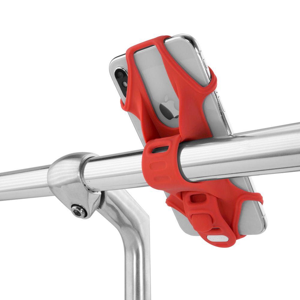 Bone │ 單車手機綁 手機架 第二代 Bike Tie 2 - 黑/灰/紅