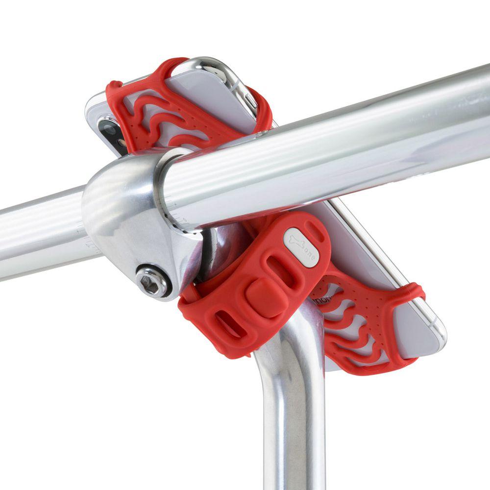 Bone │ 單車龍頭手機綁 第二代 Bike Tie Pro 2 - 黑/灰/紅