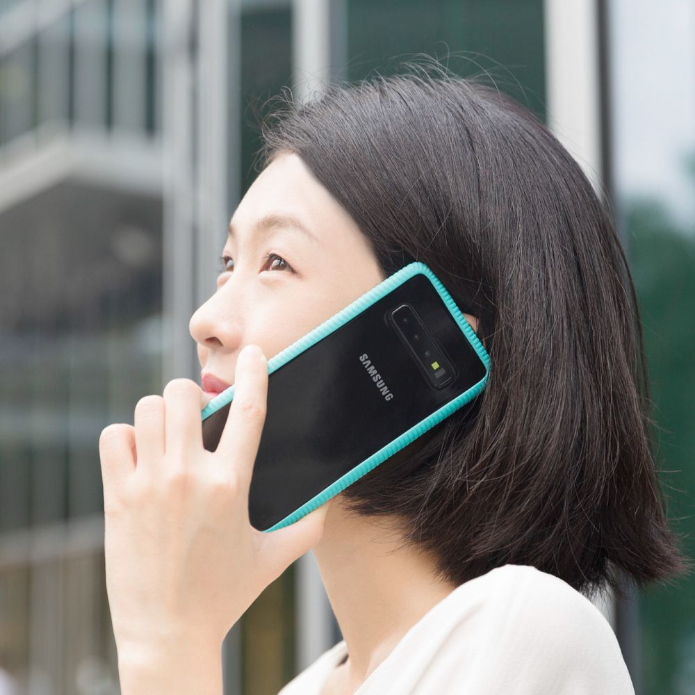 Bone|Phone RingTie 通用防滑環形手機綁 - 湖水藍