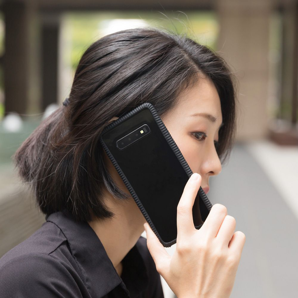 Bone|Phone RingTie 通用防滑環形手機綁 - 沉穩黑