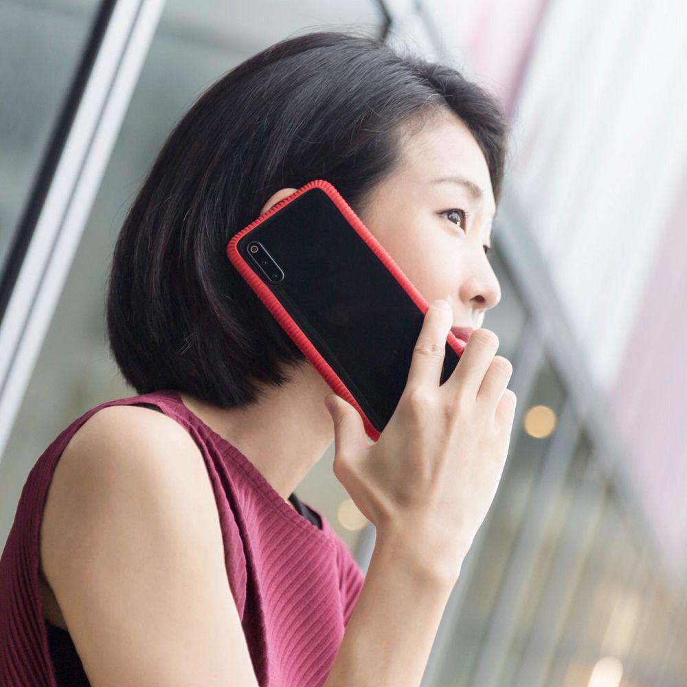 Bone|Phone RingTie 通用防滑環形手機綁 - 寶石紅