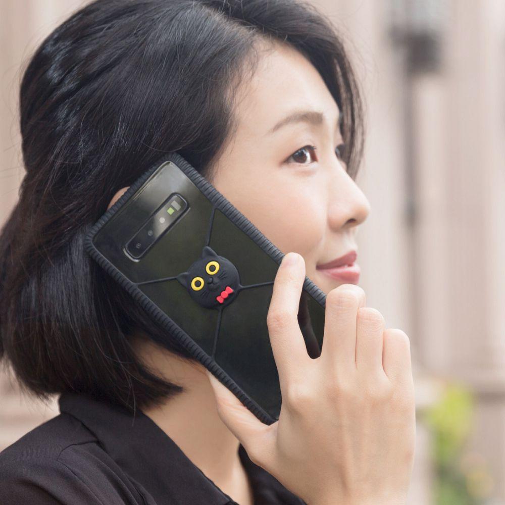 Bone|Phone RingTie 通用防滑環形手機綁 - 喵喵貓