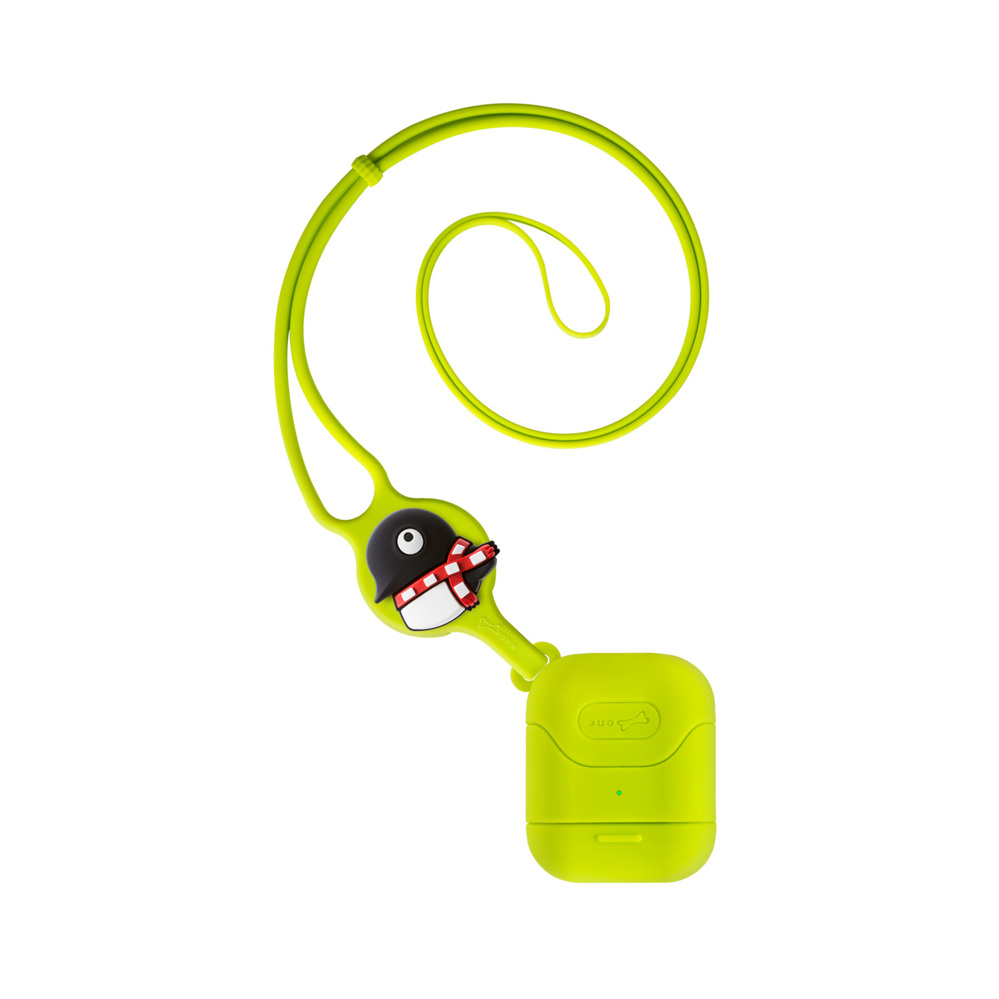 Bone | AirPods頸掛保護套(附長/短吊繩) - 企鵝小丸