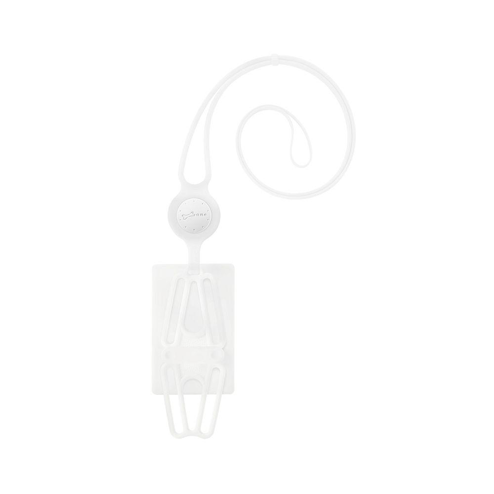 Bone│頸掛手機綁二代卡套版 - 原色白