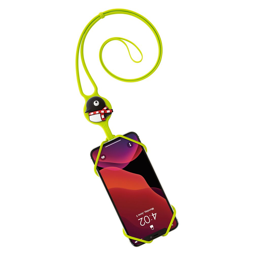 Bone | 頸掛手機綁二代 Lanyard PhoneTie 2 - 企鵝小丸
