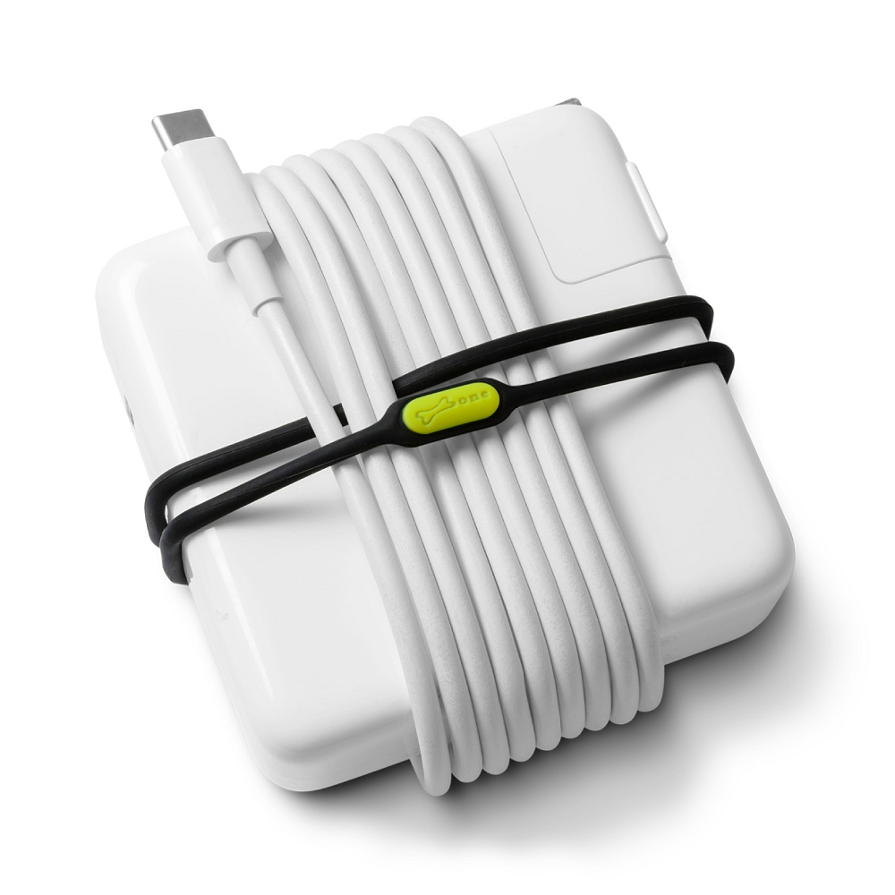 Bone 双環綁 Dual Cord Tie 捲線器 電線收納 (一組3入)
