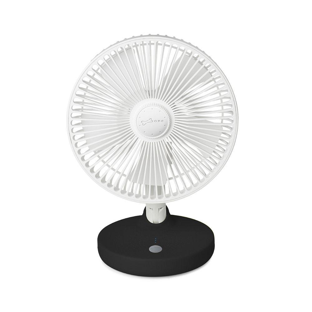 Bone|桌上型USB風扇 / USB Desk Fan - 簡約黑
