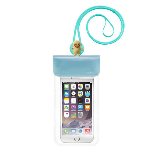 Bone|Waterproof Phone Bag 防水手機袋 - 薑餅人