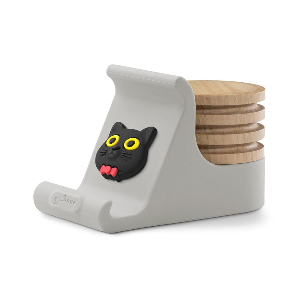 Bone|逗扣手機架擴香台 - 喵喵貓