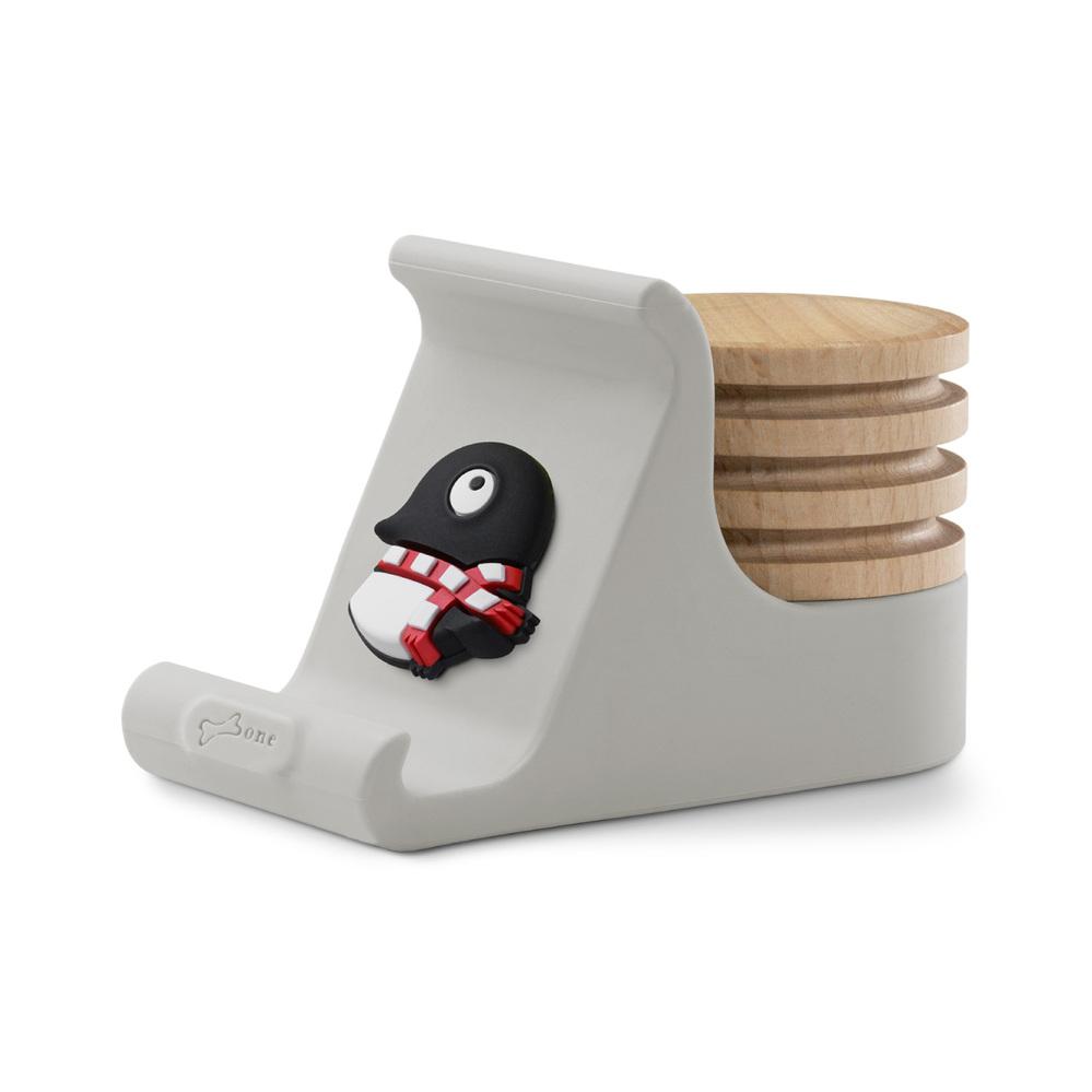 Bone 逗扣手機架擴香台 - 企鵝小丸